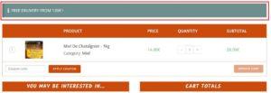 Plugin Easy Custom OceanWP Shop : Message Info livraison gratuite à partir de ...