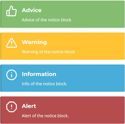 Bloc de notification